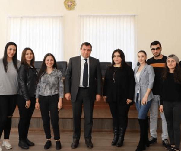 Ուսանողներն այցելել են Բարձրագույն դատական խորհուրդ