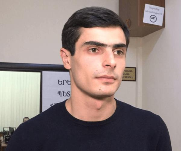 ԵՊՀ ուսխորհրդի նախագահը բերման է ենթարկվել (տեսանյութ)