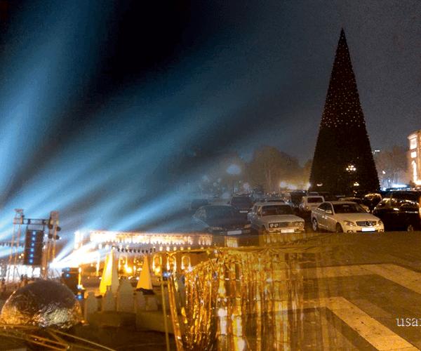 Փակվելու են դեպի Երեւանի Հանրապետության հրապարակ տանող ճանապարհների մուտքերը