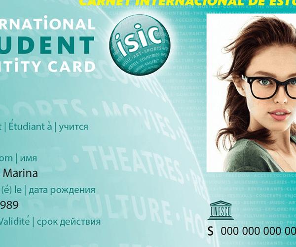 Ուսանողական ISIC միջազգային քարտը բազմաթիվ առավելություններ է տալիս