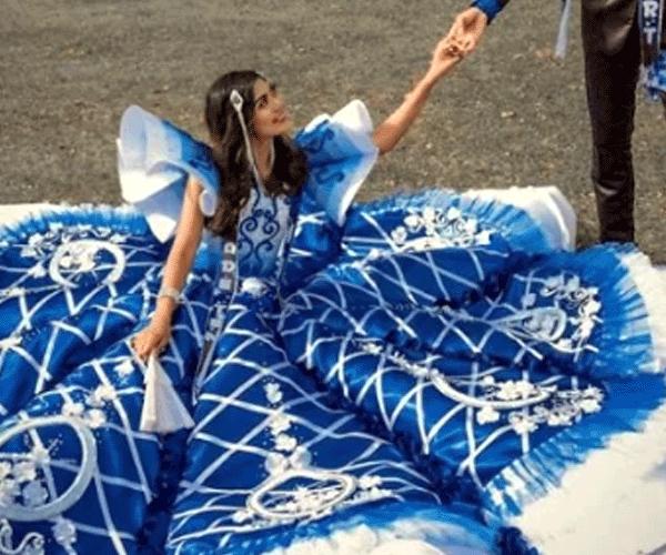 Ֆիլիպինցի ուսանողը ստիպված կարել է քրոջ ավարտական երեկույթի զգեստը եւ հիացրել բոլորին