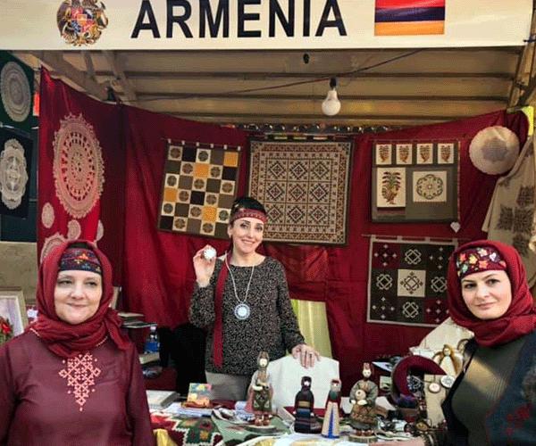 Հայաստանը մասնակցում է Սուրաջկունդի արհեստների փառատոնին
