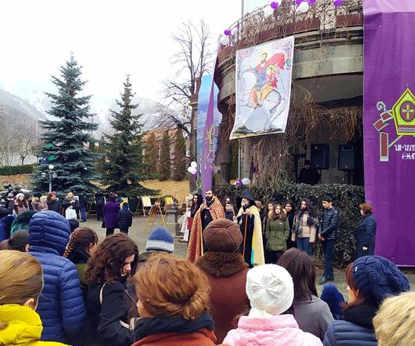 Վանաձորում նշվեց Սուրբ Սարգիս Զորավարի և երիտասարդների օրհնության տոնը