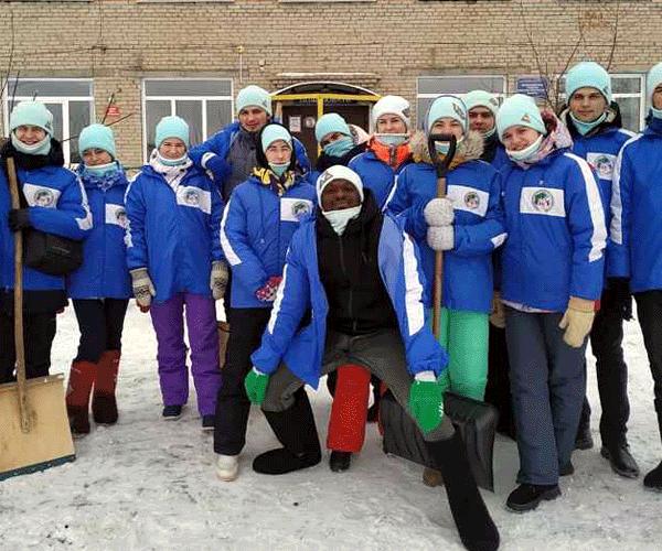 Ձնային-ուսանողական դեսանտ՝ Նովոսիբիրսկում