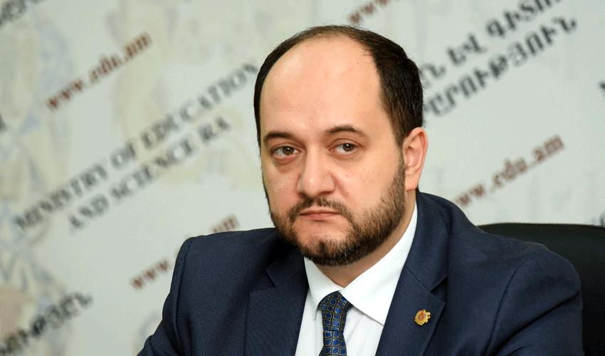 ԿԳՄՍ նախարար Արայիկ Հարությունյան