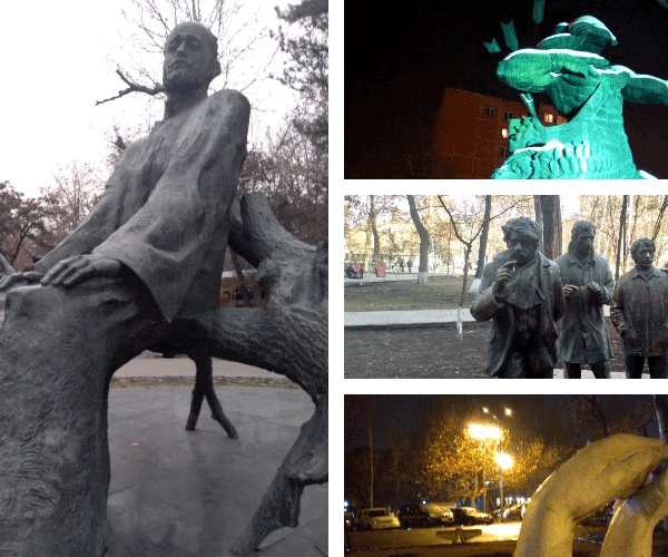 Ֆոտոկտորներ. Երեւանի արձանները-2