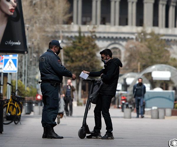 Ոստիկաններին կարելի է ներկայացնել նաեւ տեղաշարժի «էլեկտրոնային թերթիկ»
