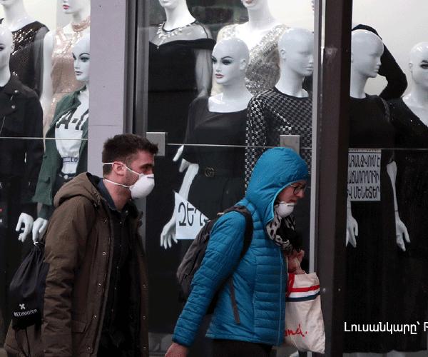 Հայաստանում կորոնավիրուսով վարակվածների թիվը հասել է 482-ի