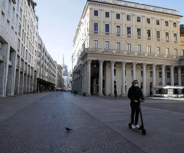 Իտալիայում փակվում են բոլոր խանութները՝ բացառությամբ մթերային խանութների եւ դեղատների
