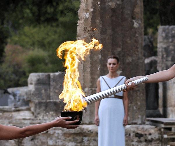 Հունաստանում վառվեց Տոկիոյի Օլիմպիական խաղերի կրակը