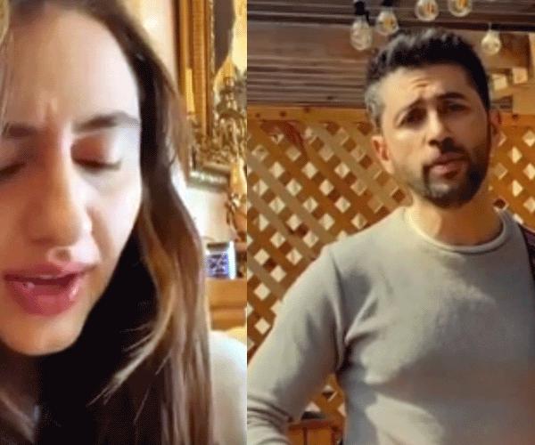 Գարիկն ու Սոնան միմյանց հումորային երգեր են նվիրել (տեսանյութ)