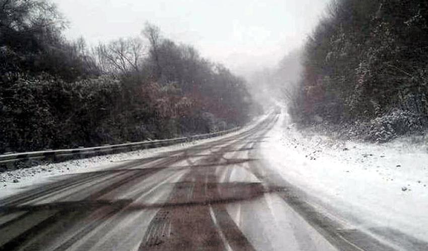 Ճանապարհ, ձյուն