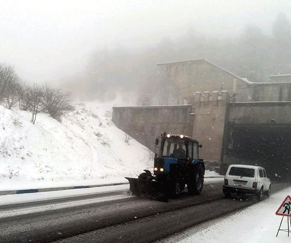 Հայաստանի մի քանի մարզերում ձյուն է տեղում