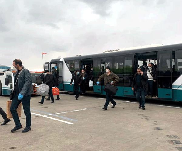 Մոսկվա-Երևան երկու չվերթով Հայաստան են վերադարձել ՌԴ-ում գտնվող չորս հարյուրից ավելի ՀՀ քաղաքացիներ