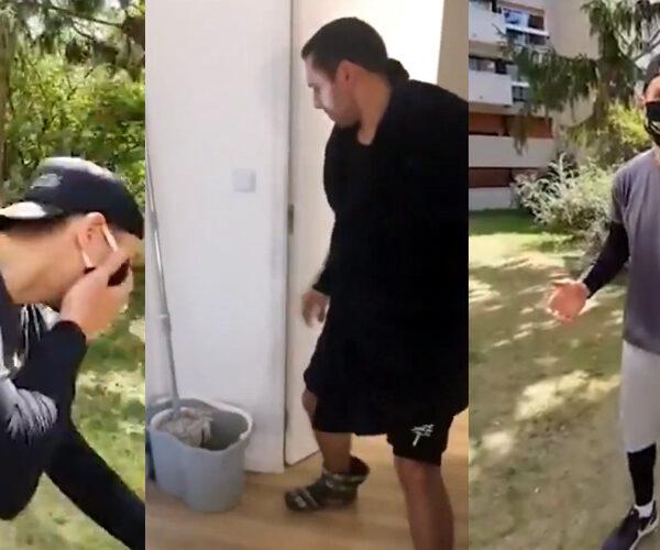 Կասկադյոր-ուսանողների մարտական հարվածը՝ կորոնավիրուսին (տեսանյութ)