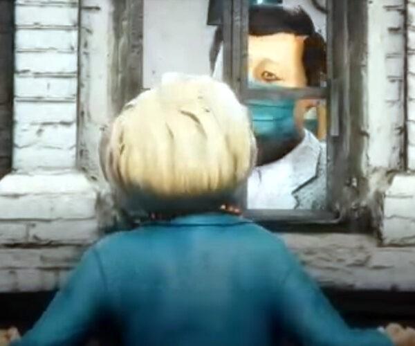 Երբ Չինաստանը հիվանդանում է (քաղաքական մուլտֆիլմ)