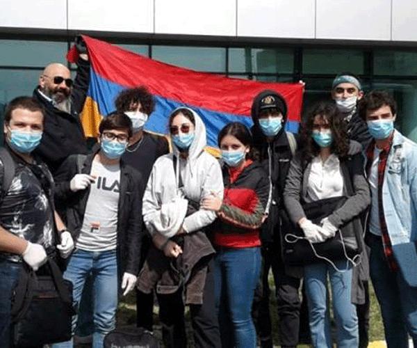 ՀՀ քաղաքացի 45 աշակերտ և ուսանող Վրաստանի տարածքով վերադարձել է Հայաստան