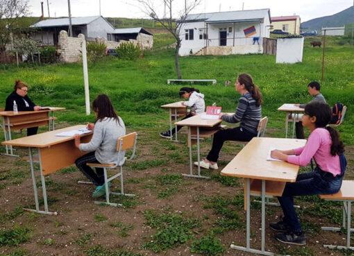 Բացօթյա դաս՝ Արցախում