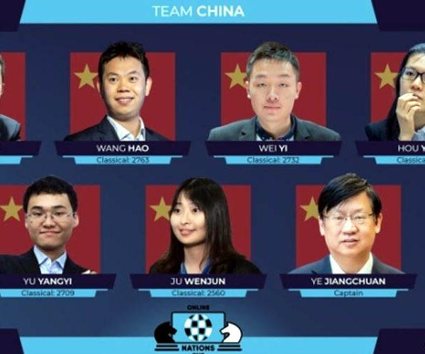 Չինաստանի շախմատի հավաքականը՝ ՖԻԴԵ-ի «Ազգերի լիգա»-ի հաղթող