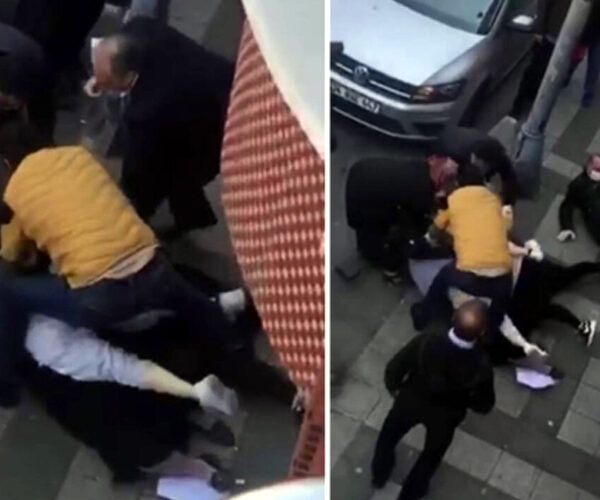 Ստամբուլում կանայք ծեծել են իրար հացի հերթում (տեսանյութ)
