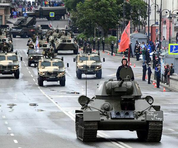 Հաղթանակի շքերթը՝ Մոսկվայի Կարմիր հրապարակում (ուղիղ)