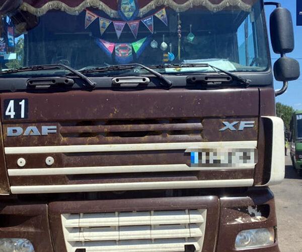 Ուկրաինայում բեռնատարն անցել է դատախազի վրայով