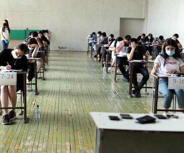 Միասնական առաջին քննությունը նախատեսվում է անցկացնել հունիսի 8-ին