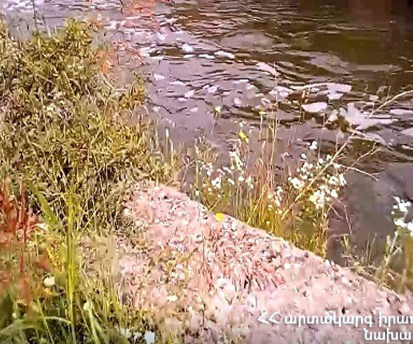 Փրկարարները հայտնաբերել են Արզնի-Շամիրամ ջրանցքն ընկած քաղաքացու դին
