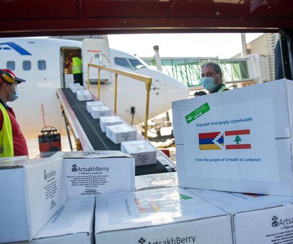 Արցախից հումանիտար օգնություն է ուղարկվել Լիբանան