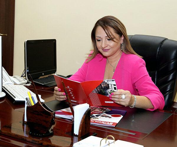 Դիանա Գալոյանը՝ ՀՊՏՀ ռեկտոր