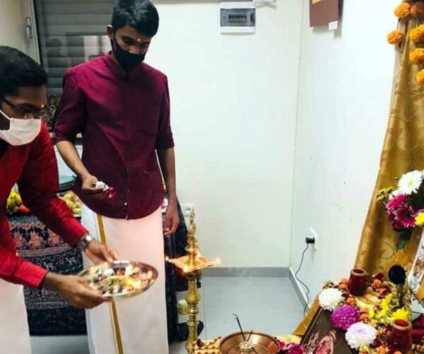 ԵՊԲՀ հնդիկ ուսանողները նշել են Գանեշ Չատուրթի փառատոնը