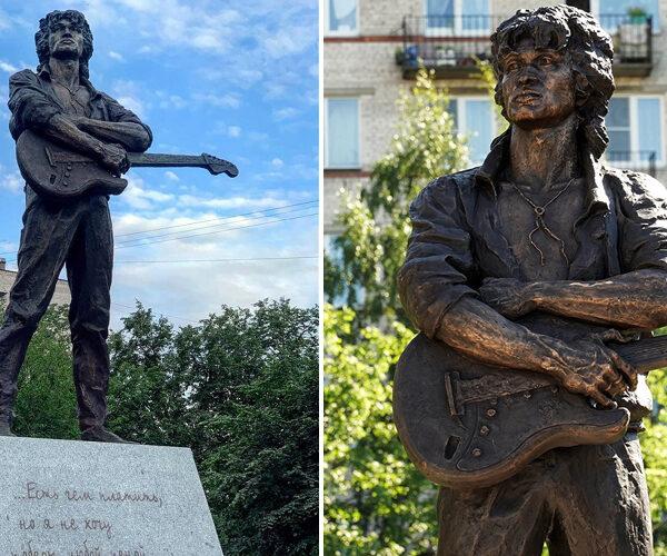 Պետերբուրգում տեղադրվել է Վիկտոր Ցոյի արձանը