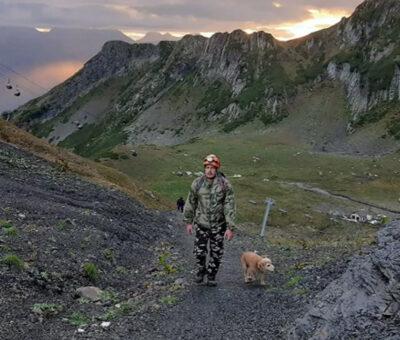 Փրկարարը՝ սոչիամերձ լեռներում