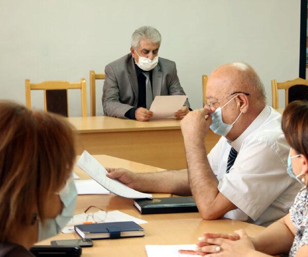 Տեղի է ունեցել ԱրՊՀ ռեկտորատի նիստ