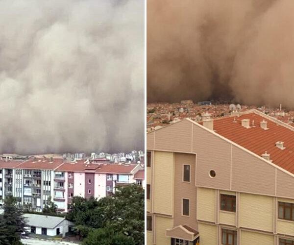 Ավազամրրիկ՝ Թուրքիայի մայրաքաղաքում. կան տուժածներ (տեսանյութ)