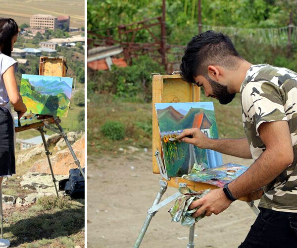 Ճամբարակում անցկացվեց «Պլեներ–2020» երիտասարդական գեղանկարչական փառատոն