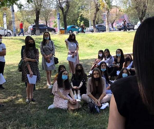 Ուսանողների թիվը Հայաստանում աճել է. 2020/21 ուսումնական տարի
