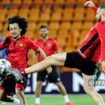 Ֆուտբոլի Հայաստանի հավաքականը մարզվում է