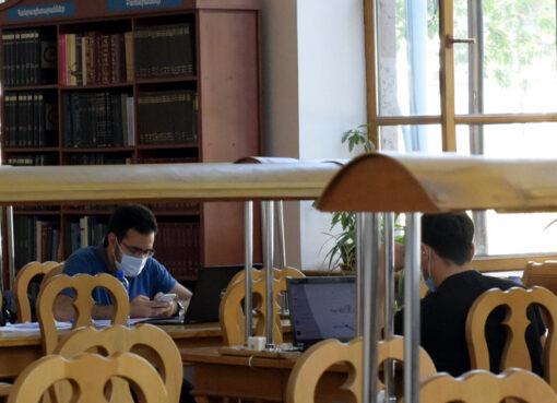 Ազգայինգրադարանի ընթերցասրահում