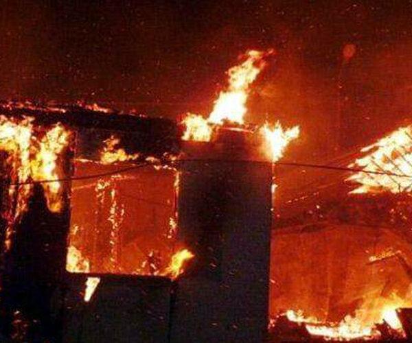 65–ամյա տղամարդն այրվել է վագոն–տնակում