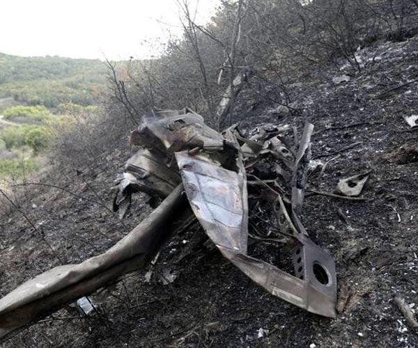 Թշնամու ինքնաթիռ է խոցվել