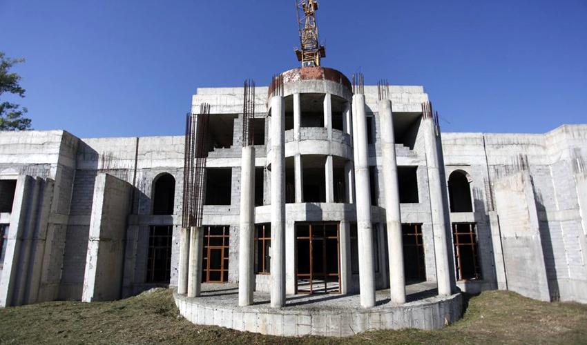 Արցախի ԱԺ նոր շենքի շինարարություն