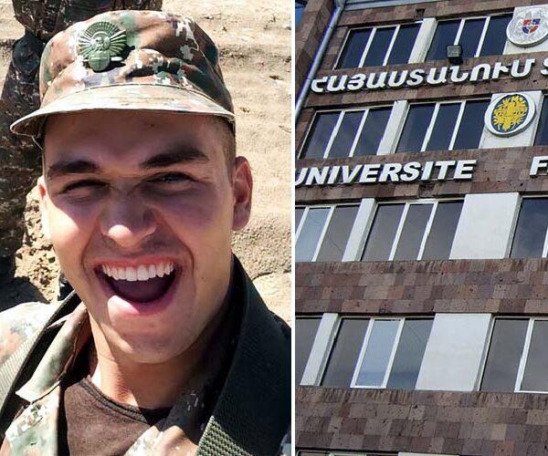 Պարգեւը ուժեղ տղամարդ էր. Հայաստանում ֆրանսիական համալսարան (UFAR)