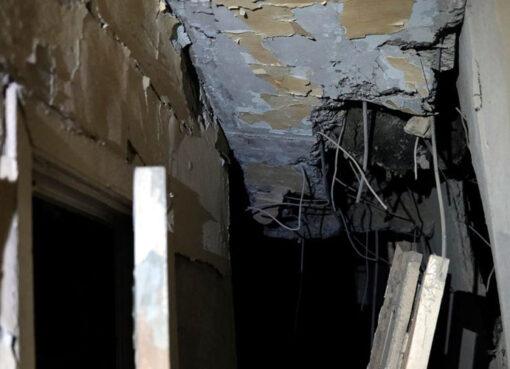 Հրետակոծված բնակարան Ստեփանակերտում