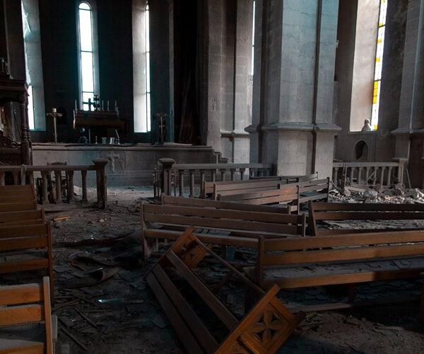 Ադրբեջանը 2 անգամ հրթիռակոծել է Շուշիի Ղազանչեցոց եկեղեցին