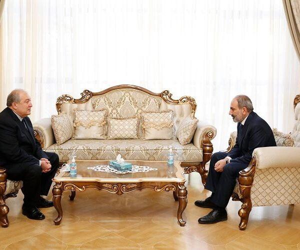 Նախագահն ու վարչապետը հանդիպել են