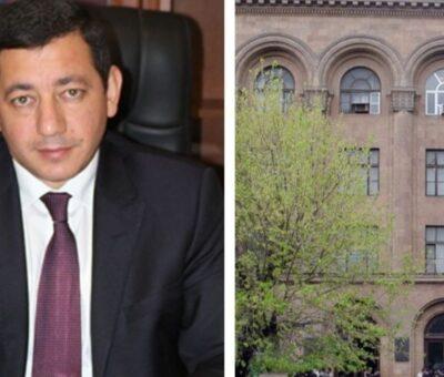Ռեկտոր Եղիազար Վարդանյան