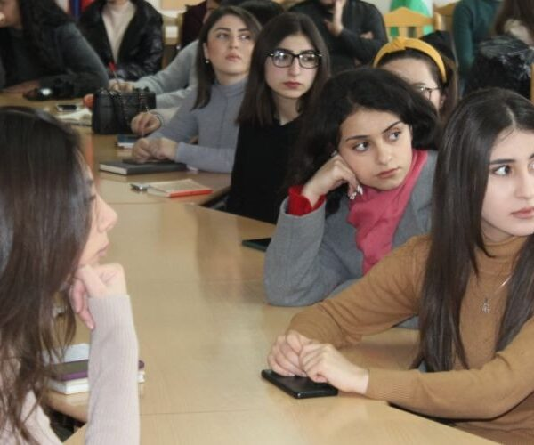 Հանդիպում՝ Արցախի պետական համալսարանում
