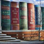 Հանրային գրադարակ՝ Կանզասի գրադարանի մոտ
