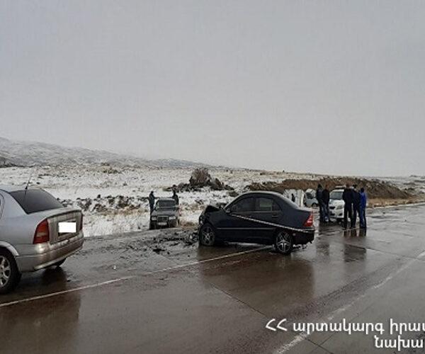 ՃՏՊ Երևան-Գյումրի ավտոճանապարհին․ կան տուժածներ և մեկ զոհ